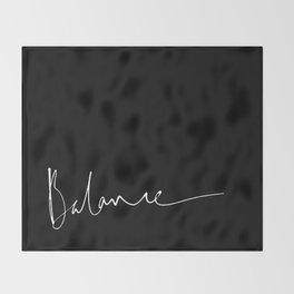 Balance 2 Throw Blanket