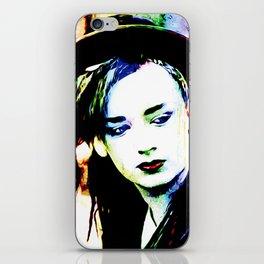 Boy George - Karma Chameleon - Pop Art iPhone Skin