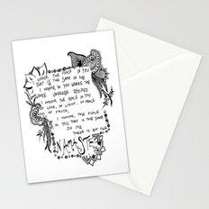 Namaste Doodle Stationery Cards