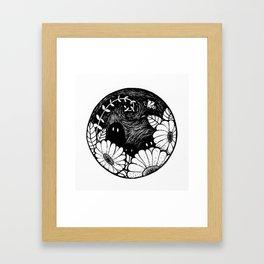 Hidden creatures Framed Art Print