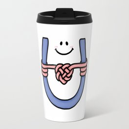 I Love U, I Love U Knot Travel Mug