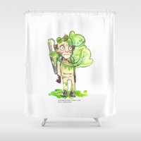 ghostbusters Shower Curtains featuring Ghostbusters Hug by Super Group Hugs