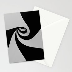 Hypnotic/Abstract Tunnel Stationery Cards