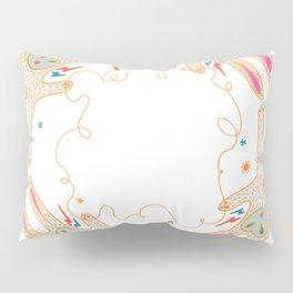 Rabbit Moon Pillow Sham