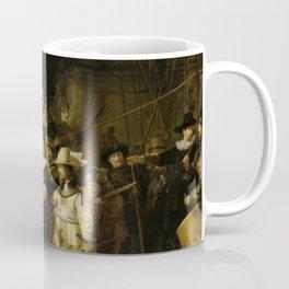 "Rembrandt Harmenszoon van Rijn, ""The Night Watch"", 1642 Coffee Mug"