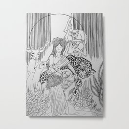 Peace Among Species Metal Print