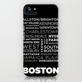 City of Neighborhoods - I iPhone Case