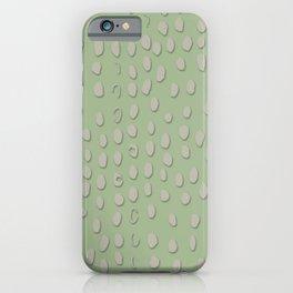Sea Green Licht Gepard Flecken iPhone Case