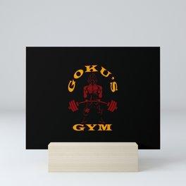 Saiyan Gym Mini Art Print