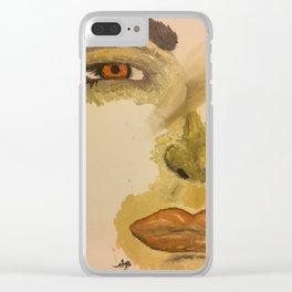 sane Clear iPhone Case