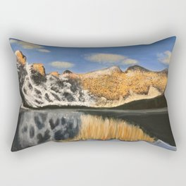 Mountain Majesty Reflection Rectangular Pillow