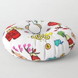 Chinese New Year 2017 Floor Pillow
