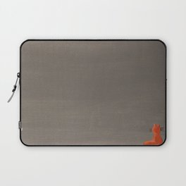 Orange Cat from the Cat+Girl Book Laptop Sleeve