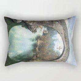 The hump-backed Roman Bridge Rectangular Pillow