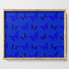 Butterblues Serving Tray