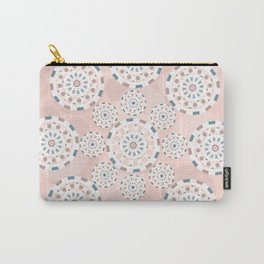 Circles life pink star Carry-All Pouch