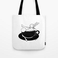 Cappuccino Bath Tote Bag
