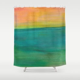 Ocean Sunset Series, 4 Shower Curtain