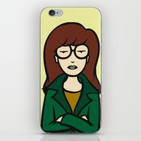 daria iPhone & iPod Skins featuring DARIA by HelloWolfgang