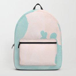 peach skies & cacti Backpack