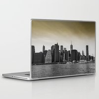 manhattan Laptop & iPad Skins featuring Manhattan by Forand Photography