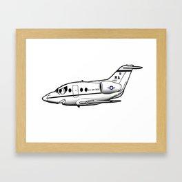 T-1 cartoon Framed Art Print