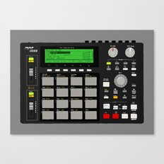 Akai MPC 1000 Canvas Print