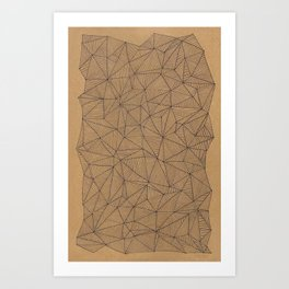 Geometry is like, hard. Art Print