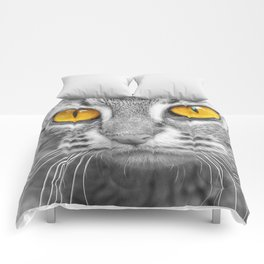 RUSTY SPOTTED CAT Comforters