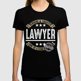 Genuine and Trusted Lawyer T-shirt