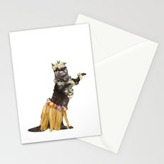 Otter the Hawaiian Dancer Stationery Cards
