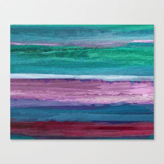 Different Strokes Canvas Print