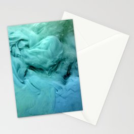 Blue and Green Mist Stationery Cards