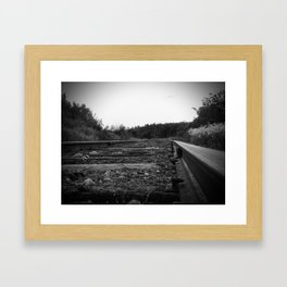 A Scene in Time of a Time Gone By Framed Art Print