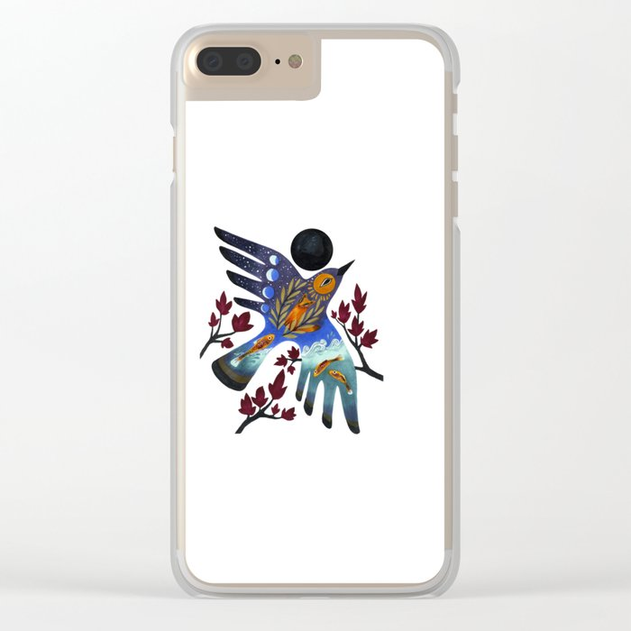 Life Cycles Clear iPhone Case