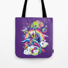 Rainbow Apocalypse Tote Bag