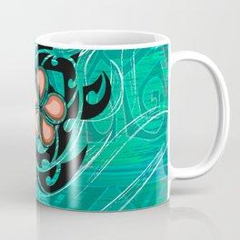 Vintage Hawaiian Honu Decor Coffee Mug