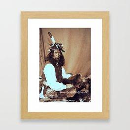 The Seneca  Framed Art Print