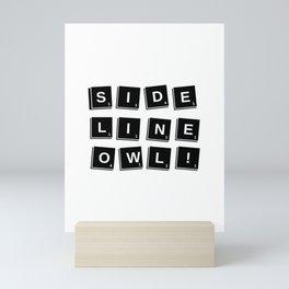 Sidelineowl's 1st edition theme obsidian Mini Art Print