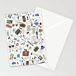 Girly Objects Stationery Cards