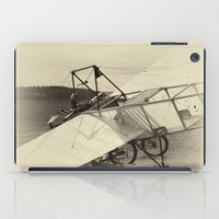 airplane iPad Cases featuring Airplane by DistinctyDesign