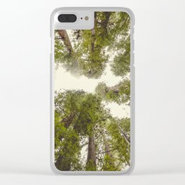 Into the Mist - Nature Photography Clear iPhone Case