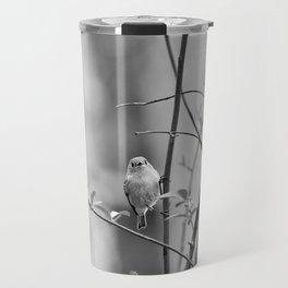 Ruby-Crowned Kinglet, Small Bird Travel Mug
