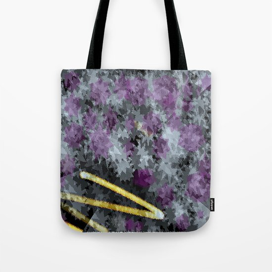 line of the moon in the sky Tote Bag