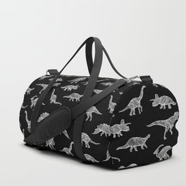 DINOSAURS (BLACK) Duffle Bag