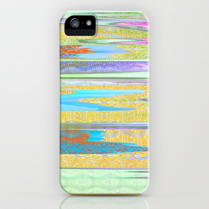 Mist of Lines iPhone Case
