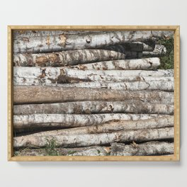 birch wood Serving Tray