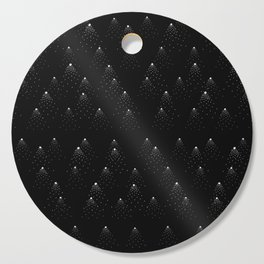 poppy seed dot pattern Cutting Board