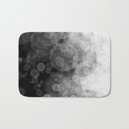 Black and White Spotted3 Bath Mat
