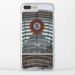 Glasgow city Clear iPhone Case